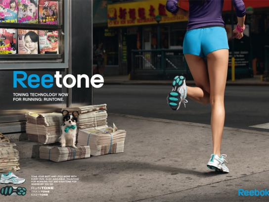 Reebok Print Ad -  Newspaper