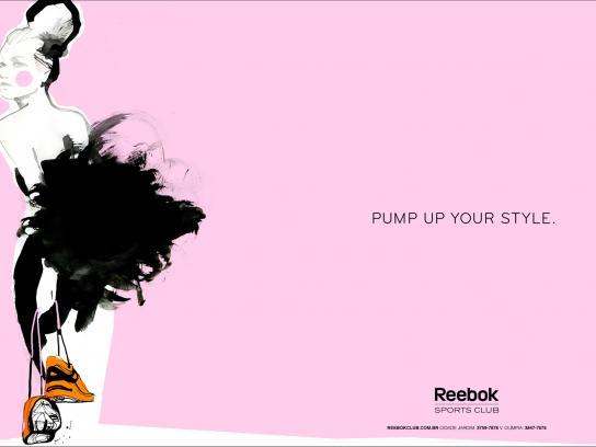 Reebok Print Ad -  Sketches, 2