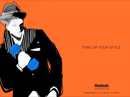 Reebok Print Ad -  Sketches, 3