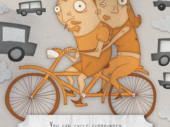 La Fabbrica di Nichi Print Ad -  A Better Milan, Cycle