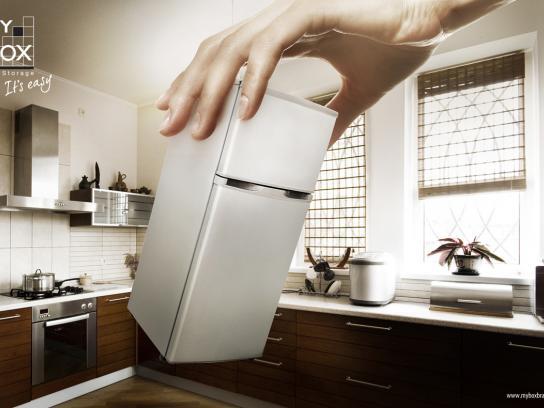 My Box Print Ad -  Refrigerator