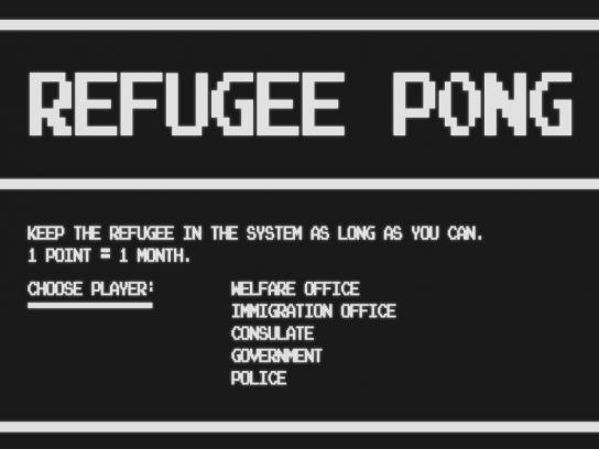 The Folkoperan Opera House Digital Ad -  Refugee Pong