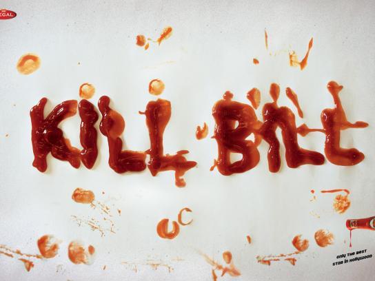 Regal Print Ad -  Kill Bill