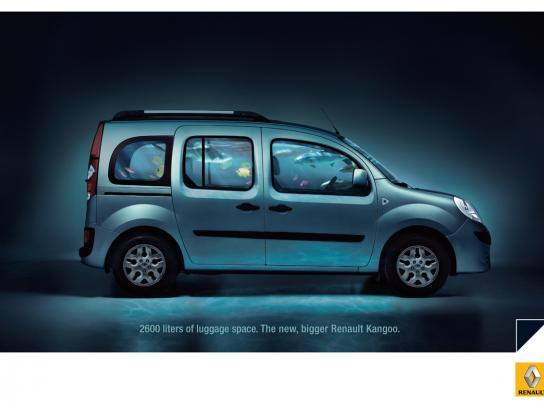 Renault Print Ad -  Aquarium