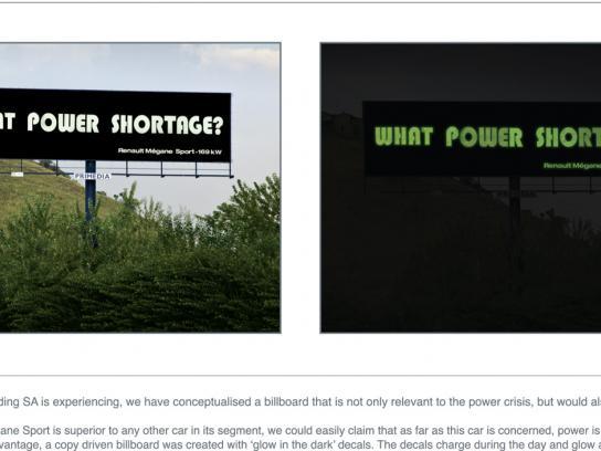 Renault Outdoor Ad -  Power