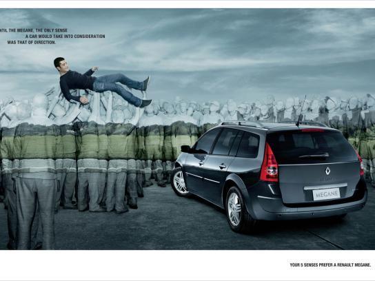 Renault Print Ad -  Senses, 1