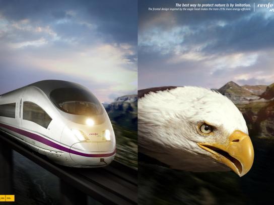 Renfe Print Ad -  Eagle