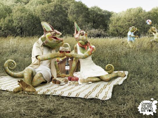 Repella Print Ad -  Chameleons