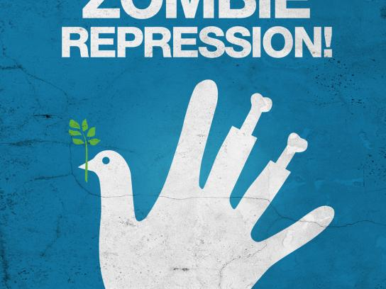 MTV Print Ad -  Repression