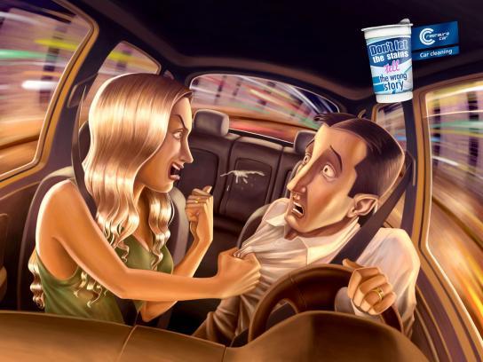 Restaura Car Print Ad -  Yogurt