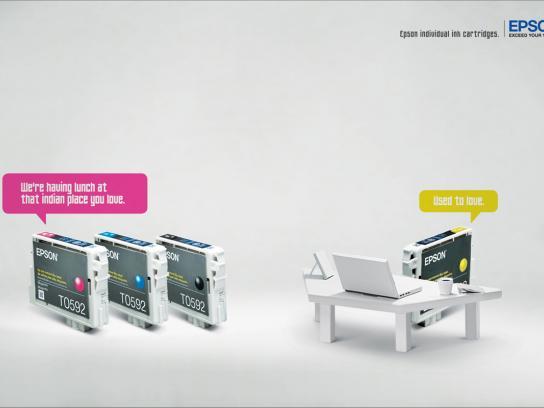 Epson Print Ad -  Restaurant