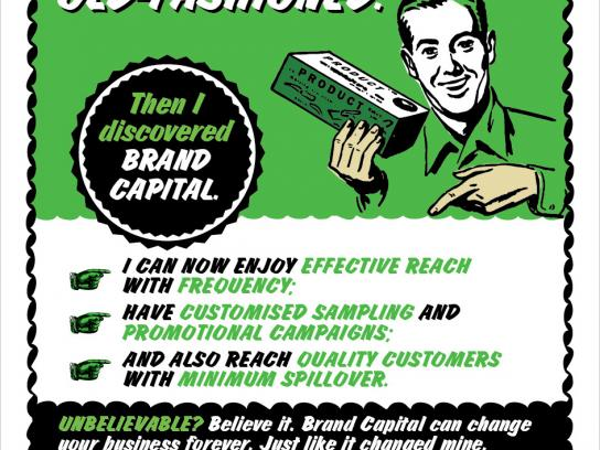 Brand Capital Print Ad -  Retro, 1