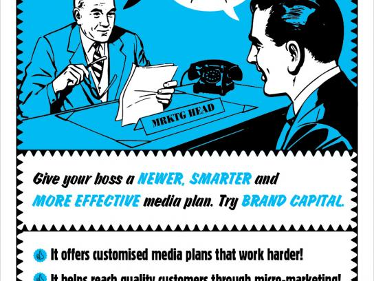 Brand Capital Print Ad -  Retro, 2