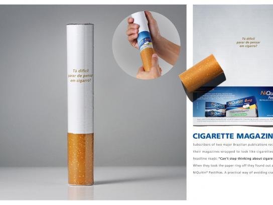 NiQuitin Print Ad -  Cigarette Magazines