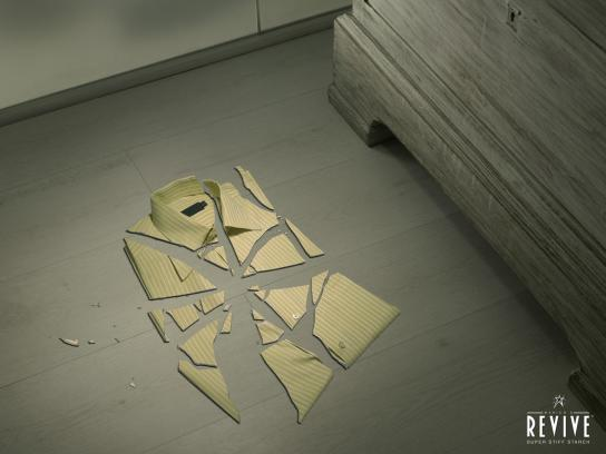 Revive Print Ad -  Shattered shirt