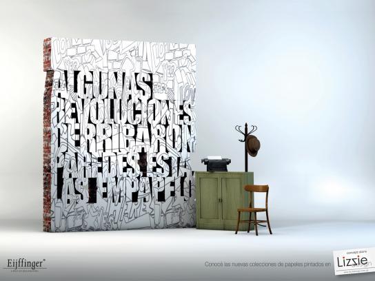 Lizzie Design Print Ad -  Revolution