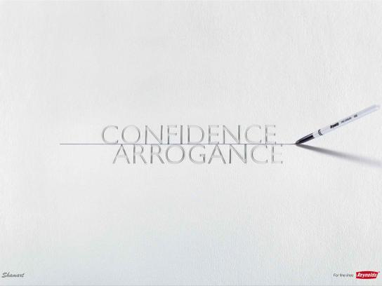 Reynolds Print Ad -  Confidence