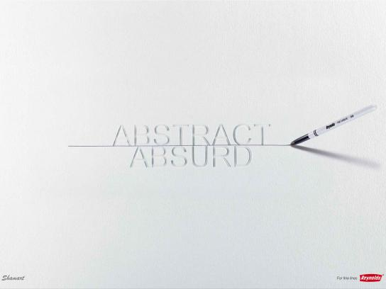 Reynolds Print Ad -  Abstract