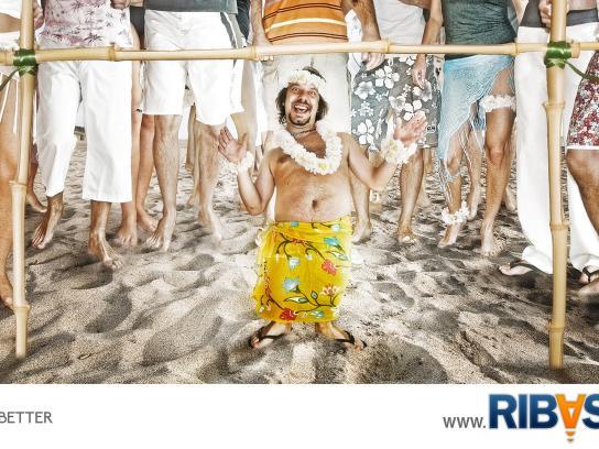 Ribasta Print Ad -  Beach
