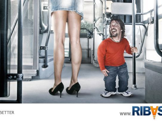 Ribasta Print Ad -  Bus