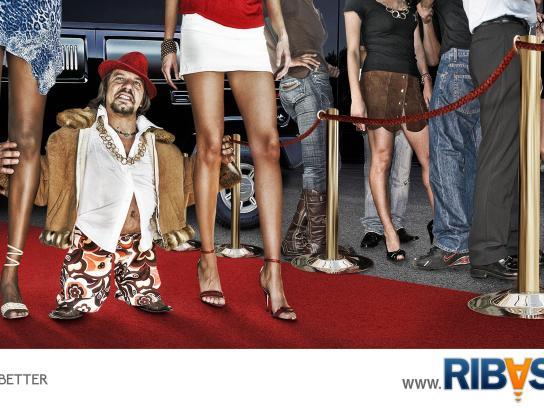 Ribasta Print Ad -  Red carpet