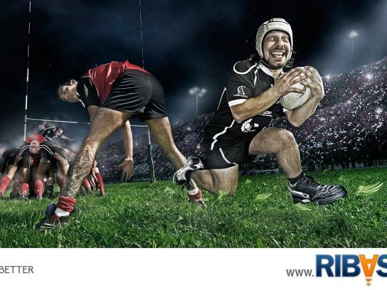 Ribasta Print Ad -  Rugby