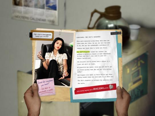 Ricoh Digital Ad -  Get a better worker