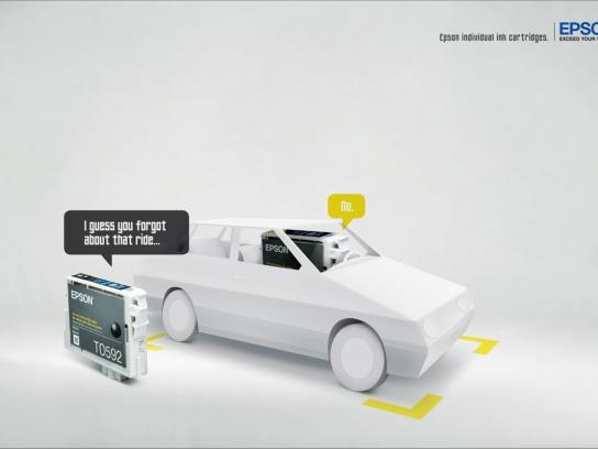 Epson Print Ad -  Ride