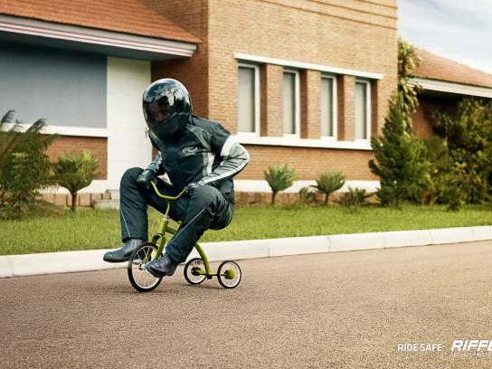 Riffel Print Ad -  Trycicle 2