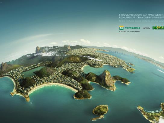 Petrobras Print Ad -  Rio
