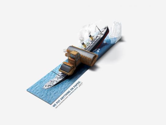 Rios Print Ad -  Titanic