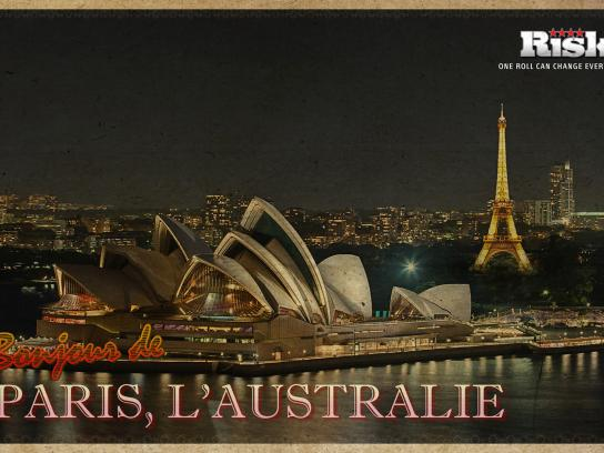 Risk Print Ad -  Paris, Australia
