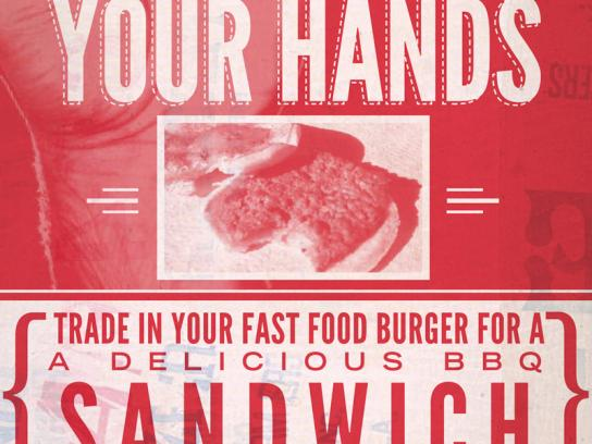 BBQ Post 401 Print Ad -  The power is in your hands