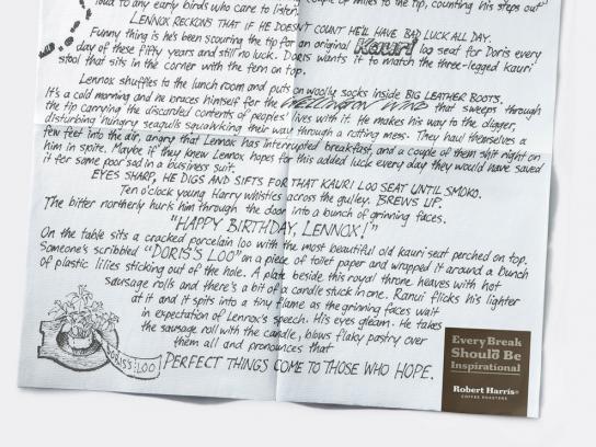 Robert Harris Direct Ad -  Lennox