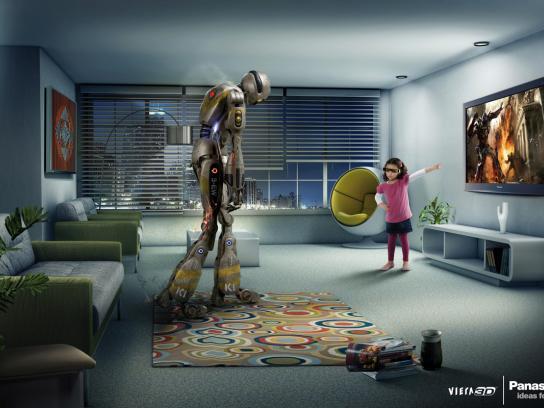 Panasonic Print Ad -  Robot