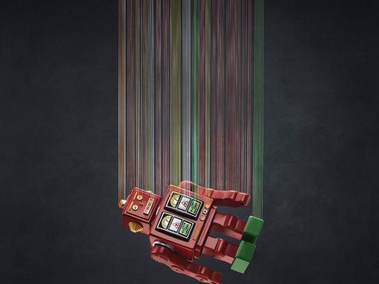 Resistol 911 Print Ad -  Robot