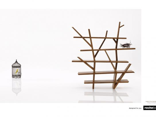 Rochebobois Print Ad -  Bird