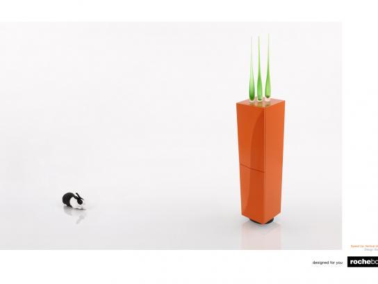 Rochebobois Print Ad -  Rabbit