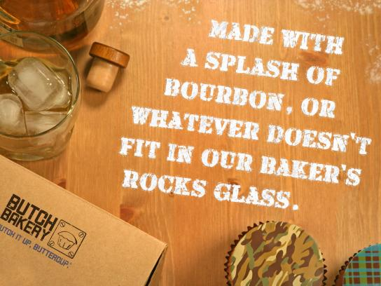 Butch Print Ad -  Rocks Glass