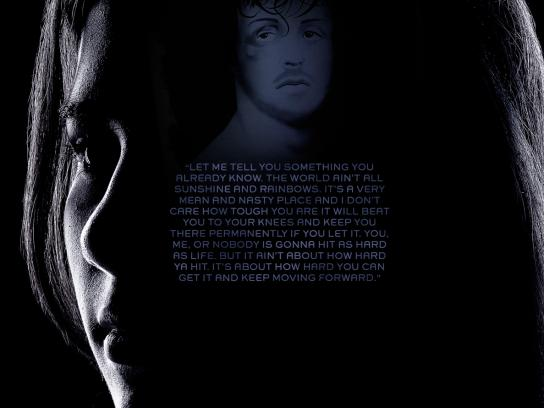 Aza Video Print Ad -  Rocky