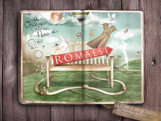 Romaest Print Ad -  Once upon a time. Now. 1