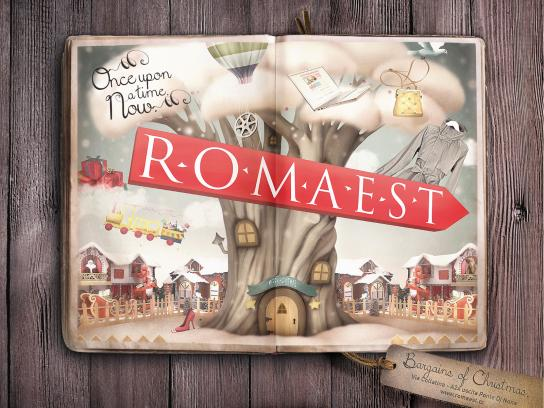 Romaest Print Ad -  Once upon a time. Now. 2