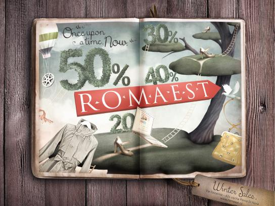Romaest Print Ad -  Once upon a time. Now. 3