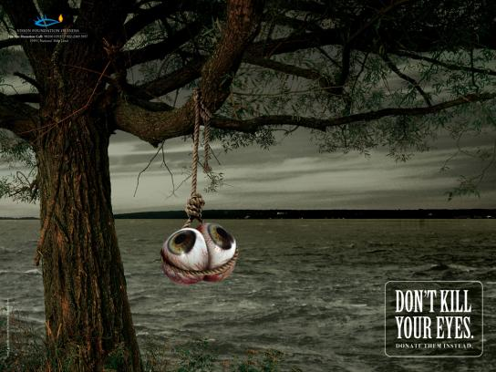 Vision Foundation of India Print Ad -  Rope