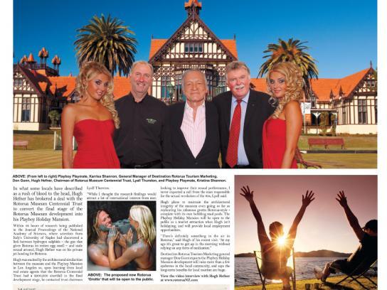 Rotorua Tourism Print Ad -  Hef