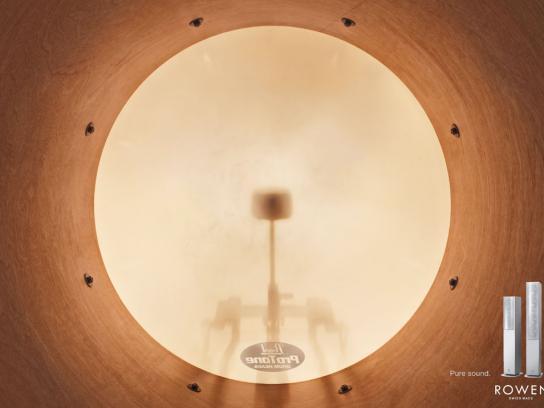Rowen Print Ad -  Pure sound, 2