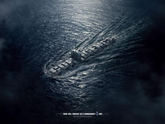 Royal Australian Navy Print Ad -  Confidence
