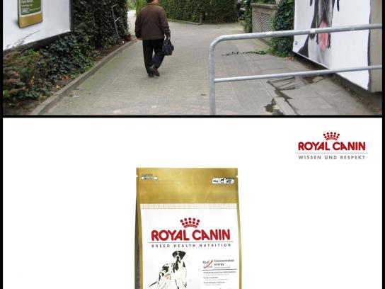 Royal Canin Outdoor Ad -  Drooling dog