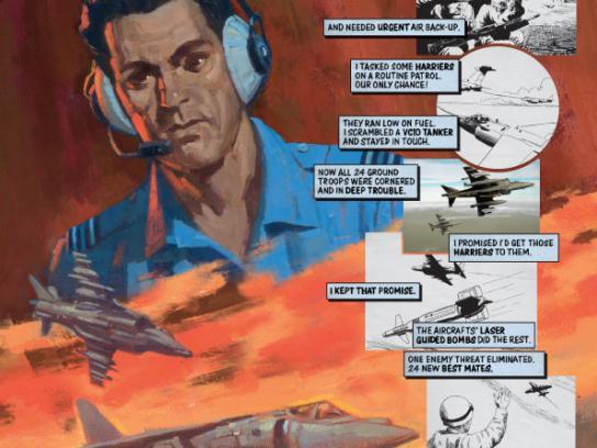 Royal Air Force Print Ad -  Aerospace