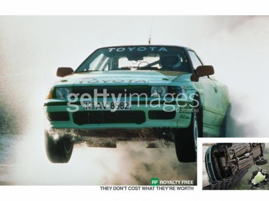 Getty Images Print Ad -  Rally